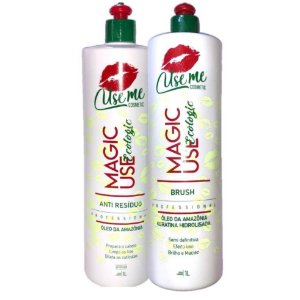 Escova Progressiva Magic Use Ecologic S/ Formol Use Me 2x1L