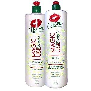 Escova Progressiva Magic Use Ecologic S/ Formol Use Me 2x1L