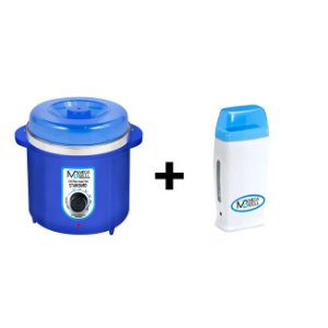 Panela Termocera Mega Bell 700g  Blue + Roll On Azul