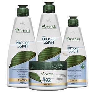 Kit Arvensis Pós Progressiva Vegana 4 Produtos
