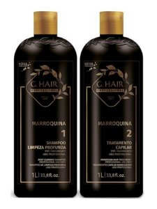 G.hair Escova Progressiva  Marroquina 2x1000ml