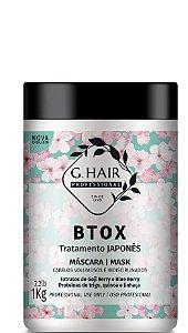 G.Hair Btox Tratamento Japones Mask 1000g