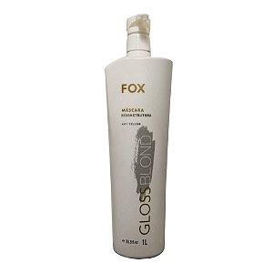 Máscara Reconstrutora Fox Gloss Blond 1L Passo Único