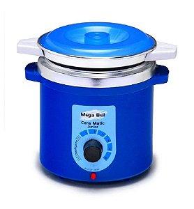 Panela Termocera Junior Mega Bell Corpo Azul - 400g C/Refil