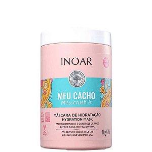 Meu Cacho Meu Crush Máscara Hydration Mask 1kg - Inoar