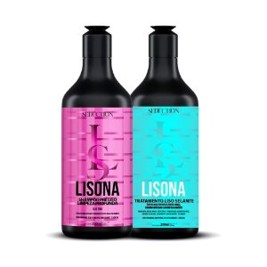 Kit Seduction Salon Lisona Shampoo + Selante 2x250ml