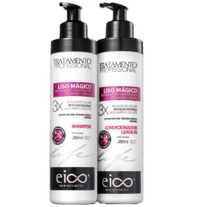 Kit Eico Life Liso Mágico Duo (Sh + cond 280ml)