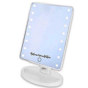 Espelho de Maquiagem Profissional Lizz Beauty Com Led