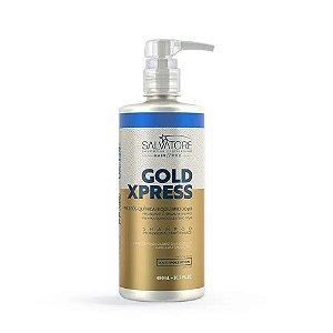 Shampoo  Salvatore Gold Xpress Pré e Pós Química 480ml