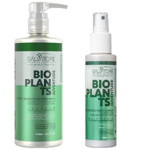Kit Salvatore Bioplants de Crescimento Capilar120ml