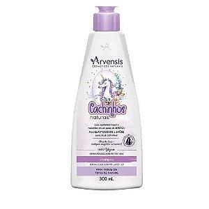 Shampoo Arvensis Cachinhos Sem Sulfato Vegano 300ml