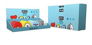 Caixa Blush Compacto BT21 - 4 cores - 24 unidades - Infantil