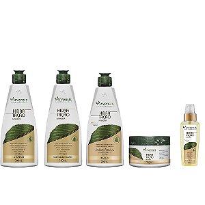Kit Arvensis Vegano Hidratação Intensiva (5 Produtos)