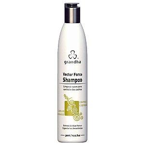 Vector Force Curl & Wave Shampoo 300ml - Grandha