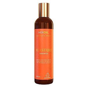 Mix Oil Moisture Shampoo Coconut & Argan 300ml - Grandha