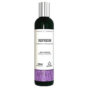 Refresh Shampoo 300ml Cabelos Frágeis - Grandha