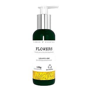 Flowers & Vegetais Leave-On 120g Cabelos Finos e Delicados - Grandha