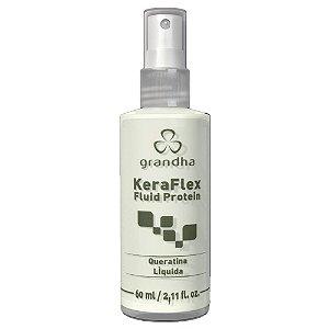 Keraflex Fluid Protein 60ml Queratina Concentrada - Grandha