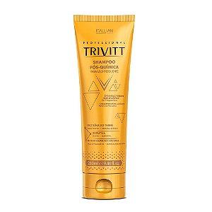 Shampoo Itallian Trivitt Pós-Química Uso Frequente 280ml