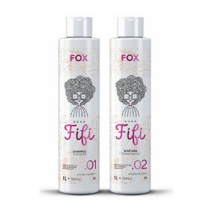 Kit Fox Escova Progressiva Dona Fifi 2x1000ml