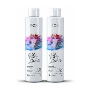 Kit Fox Escova Progressiva Vita Loka 2x1000ml