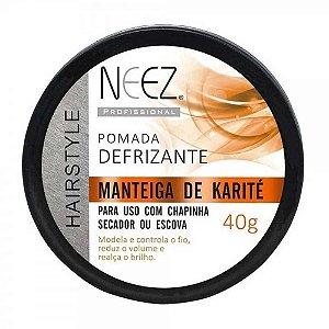 Pomada Neez Finalizadora Capilar Manteiga de Karité 40g