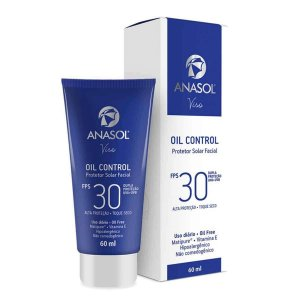 Viso Oil Control FPS 30 Protetor Solar Facial Toque Seco 60g - Anasol