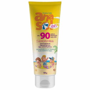 Protetor Solar Kids FPS 90 Dahuer 100g - Anasol