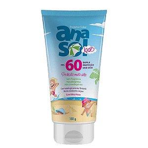 Protetor Solar Kids FPS 60 Dahuer 150g - Anasol
