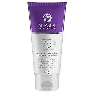 Anasol Protetor Solar Facial FPS 75 Dahuer - 60 g