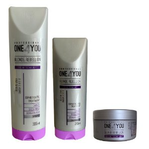 One 4 You - Kit Blonde Rebellion (3 Passos)