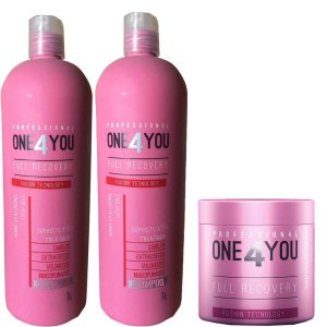 Kit One 4 You Full Recovery (3 Produtos) 1 Litro