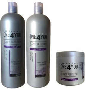 Kit One 4 You Blonde Rebellion (3 Passos) 1 Litro