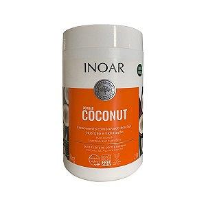 Máscara Bombar Coconut Crescimento Nutrição Vegan 1Kg -Inoar