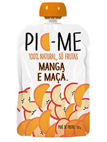 Purê de Frutas Manga Maçã Pic-Me 100g