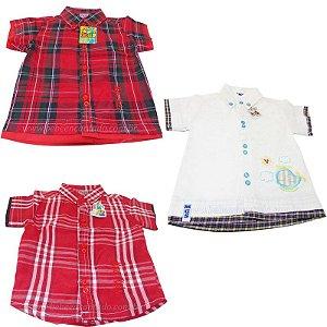 Camisa Bebê Manga Curta
