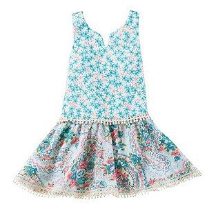 Vestido Bebê Floral