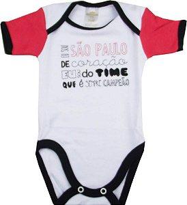 Body Bebê de Time São Paulo