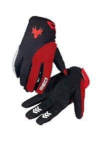 Luva De Proteção Racing Vermelha Red Dragon Tamanho P