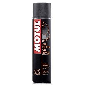Óleo Para Filtro de Ar Motul MC CARE A2 Air Filter Oil Spray
