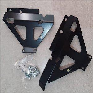Protetor de Radiador Lateral KXF450 19-21 KXF250 Preto Start