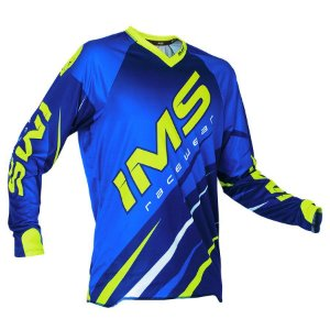 CAMISA IMS ACTION AZUL/FLUOR