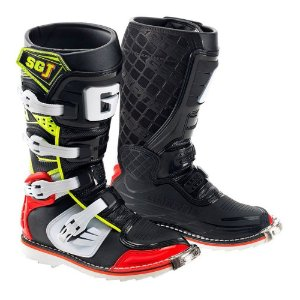 BOTA CROSS SG-J INFANTIL RED/YELLOW/BLACK