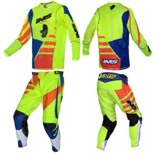 CONJUNTO IMS POWER LARANJA C/ FLUOR