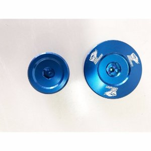 KIT TAMPA GERADOR KAWASAKI KXF450 06-08 AZUL Red Dragon