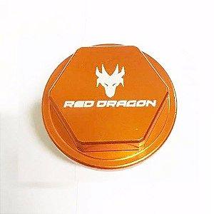 KIT TAMPA GERADOR KTM SXF350 11=> SXF450 07-12 EXCF450 08-09 SXF\XCF W350 11=> LARANJA Red Dragon