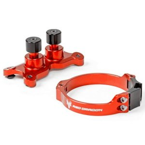 DISPOSITIVO DE LARGADA  DUPLO ESTAGIO KTM 61MM LARANJA RED DRAGON