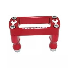 MESA ESTABILIZADORA GUIDAO 28MM HONDA CRF250R 2010 A 2019 CRF450R 2009 A 2019 (Buchas Aluminio) RED DRAGON