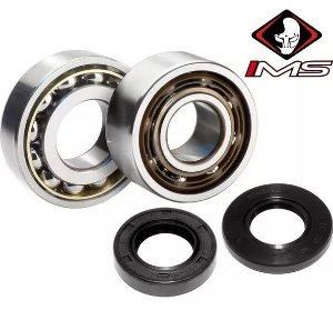 KIT ROLAMENTO DO VIRABREQUIM YZ125 2001 A 2004​ IMS