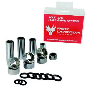 KIT ROLAMENTO DA BALANÇA HONDA CRF250R 14-17 CRF450R 13-16 RED DRAGON